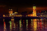 Big Ben Tower Westminster Bridge Nght Houses of Parliament Westm