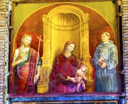 Madonna Clemency Mary Jesus Painting