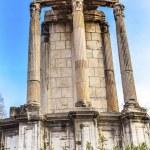 Temple of Vesta Corinthian Columns Roman Forum Rom...