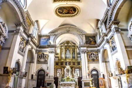 Santa Maria Giglio Zobenigo Alta Church Basilica Venice Italy