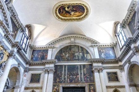 Santa Maria Giglio Zobenigo Church Basilica Venice Italy