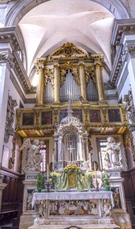 Santa Maria Giglio Zobenigo Church Altar Basilica Venice Italy