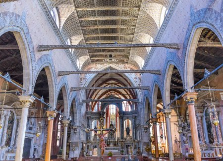 Santo Stefano Church Basilica Venice Italy
