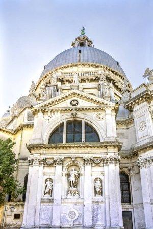 Santa Maria della Salute Church Basilica Dome Venice Italy