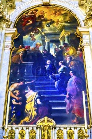 Presentation Lady Giordano Santa Maria della Salute Church Venice Italy