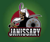 Ottoman turkish warrior Janissary
