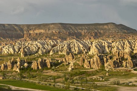 Colorful Rose valley in Cappadocia