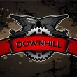 Downhill Motocros Label Design. Full Face Helmet. ...