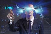 Business, Technologie, Internet und Netzwerk-Konzept. Junge busine