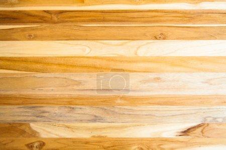Photo pour Bois teck bois mur Grange planche texture fond - image libre de droit