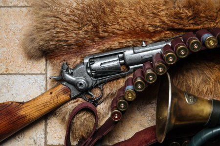 Fur and hunting items