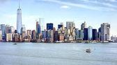 """Постер, картина, фотообои """"Известные города Нью-Йорка Панорама"""""""