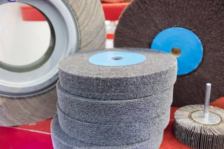 Grinding wheels for metalwork ;