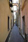 glimpse through the alleys of a country of the Mediterranean Sea