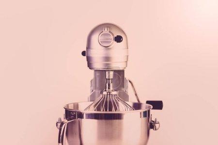 Food mixer close up