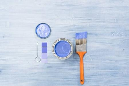 Painting projects items