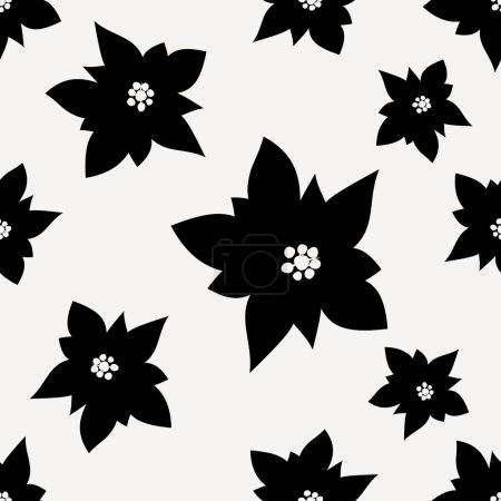 Illustration for Seamless Christmas Pattern, vector illustration - Royalty Free Image