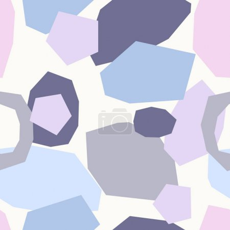 Illustration for Abstract Geometric Pattern, vector illustration - Royalty Free Image