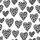 repeating pattern with hearts