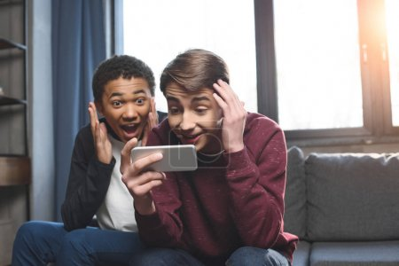 two teenagers making video call