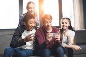 teenagers making video call