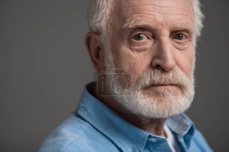 senior bearded man
