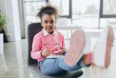 little african american businesswoman