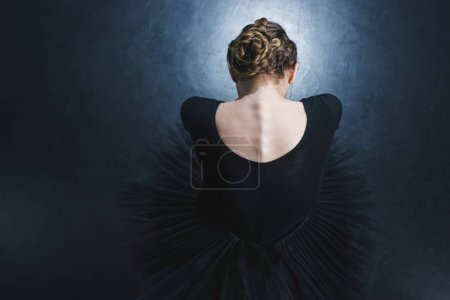 ballerina in leotard and tutu