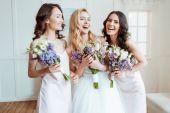 """Постер, картина, фотообои """"смех невеста с подружек невесты"""""""