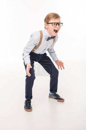 screaming little boy