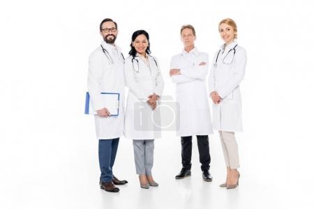 Professional team of doctors