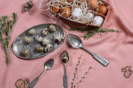 Eggs and old cutlery