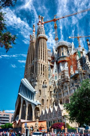 The Expiatory Temple of the Sagrada Familia