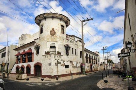 Photo pour Saint-Domingue, République dominicaine - 4 janvier 2018: un coup de œil sur une partie de la ville coloniale, le célèbre quartier de Saint-Domingue, République dominicaine. - image libre de droit