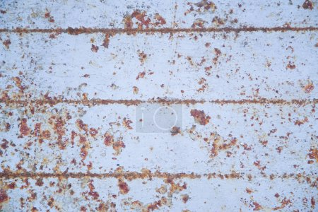 Old corroded rusty blue metallic surface texture