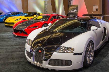 Bugatti Veyron Falcon F7 and