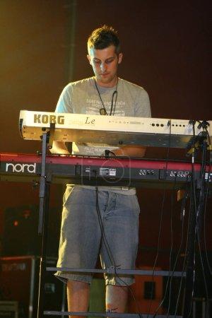 KRAKOW, POLAND - AUGUST 22, 2008: Coke Live Festiv...