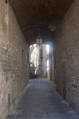 Old street of Todi, Umbria