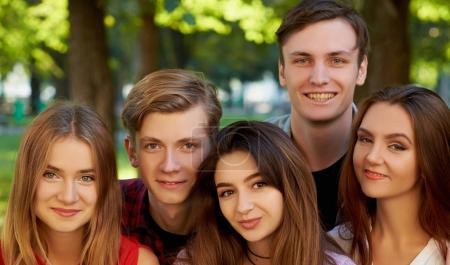 Selfie friendship memories leisure dating concept