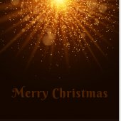 Bright Christmas golden light Beautiful text Flash Light Abstract orange lights and rays of light Gold sand Festive background Glare bokeh