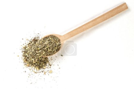 Wormwood herb or in latin Absinthii herba herb in ...