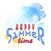 Bright summer background illustration clip-art