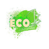 The sign eco product vector illustration clip-art