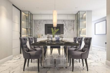 Photo for 3d rendering interior and exterior design - Royalty Free Image