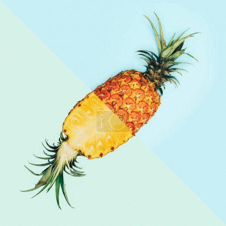 Foto de Diseño de moda de piña fruta creativa arte minimalista - Imagen libre de derechos