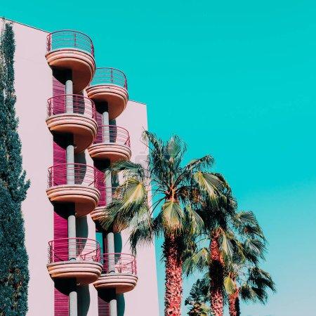 Tropical minimal vibes. Fashion palm