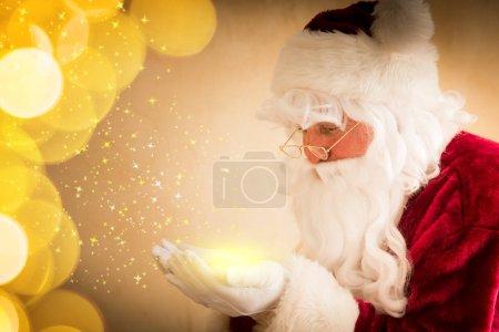 Photo for Santa Claus magic. Christmas holiday concept - Royalty Free Image
