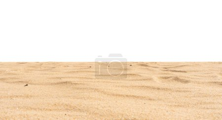 Nature beach sand texture on white background...