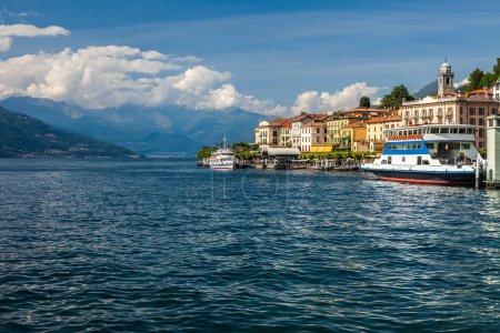 Boats on Lake Como