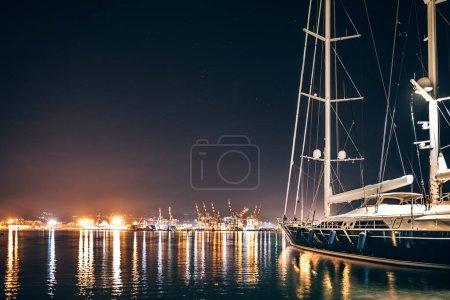 Luxury yacht in La Spezia